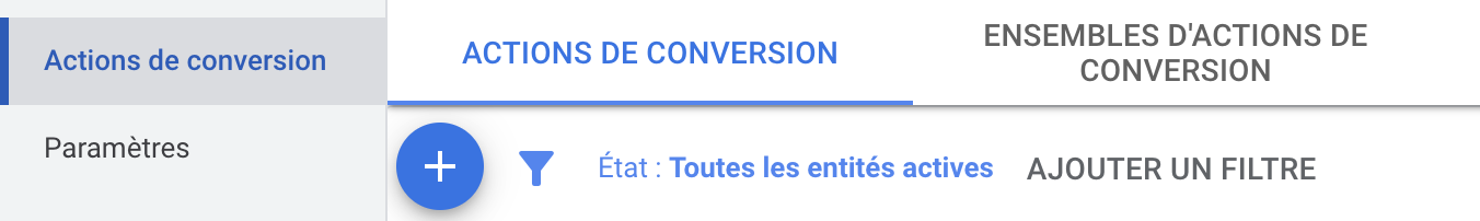 créer conversion google ads