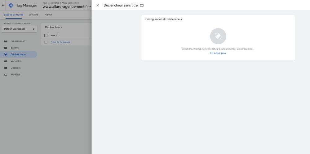 déclencheur Google Ads