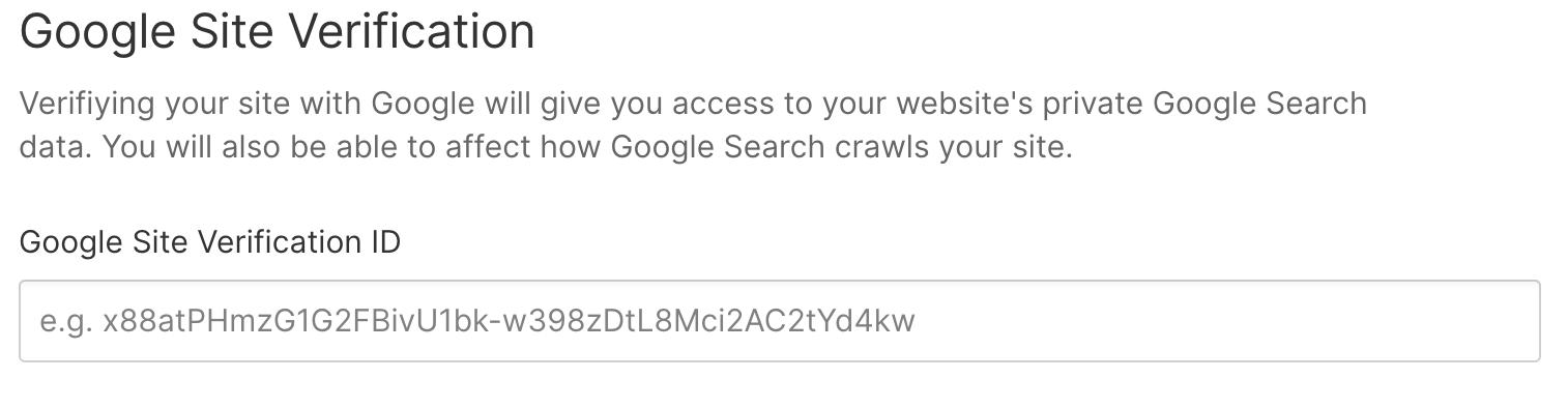 vérification site webflow gogle search console