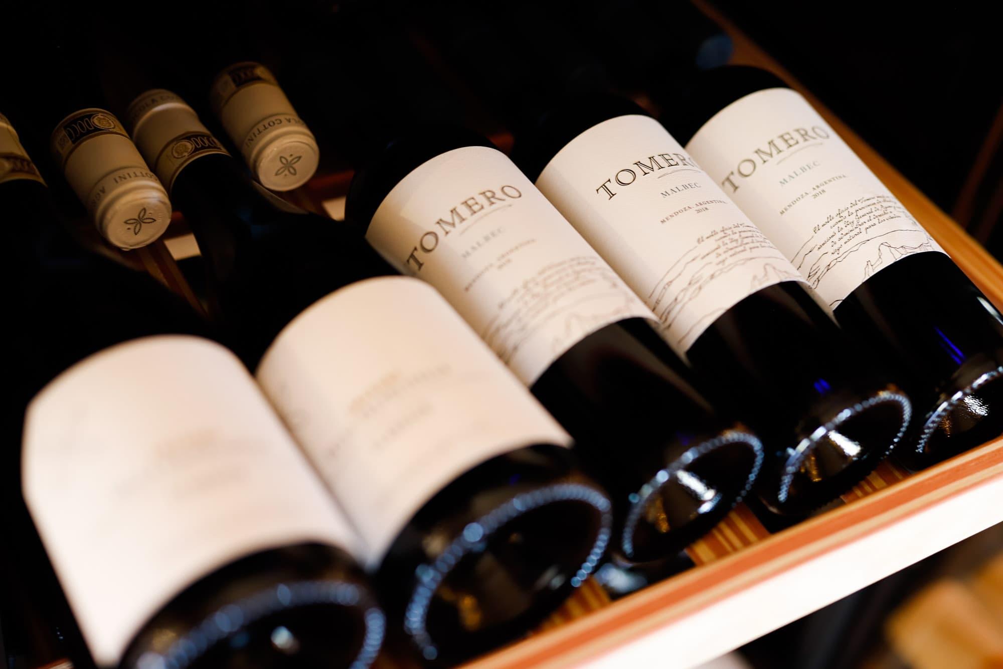 Restaurant Krelis wijnkaart