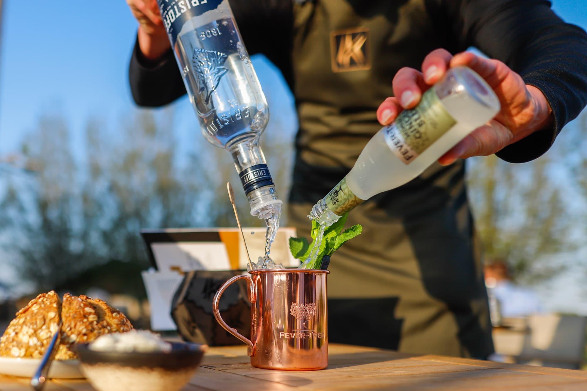 Restaurant Krelis Fever-Tree cocktail