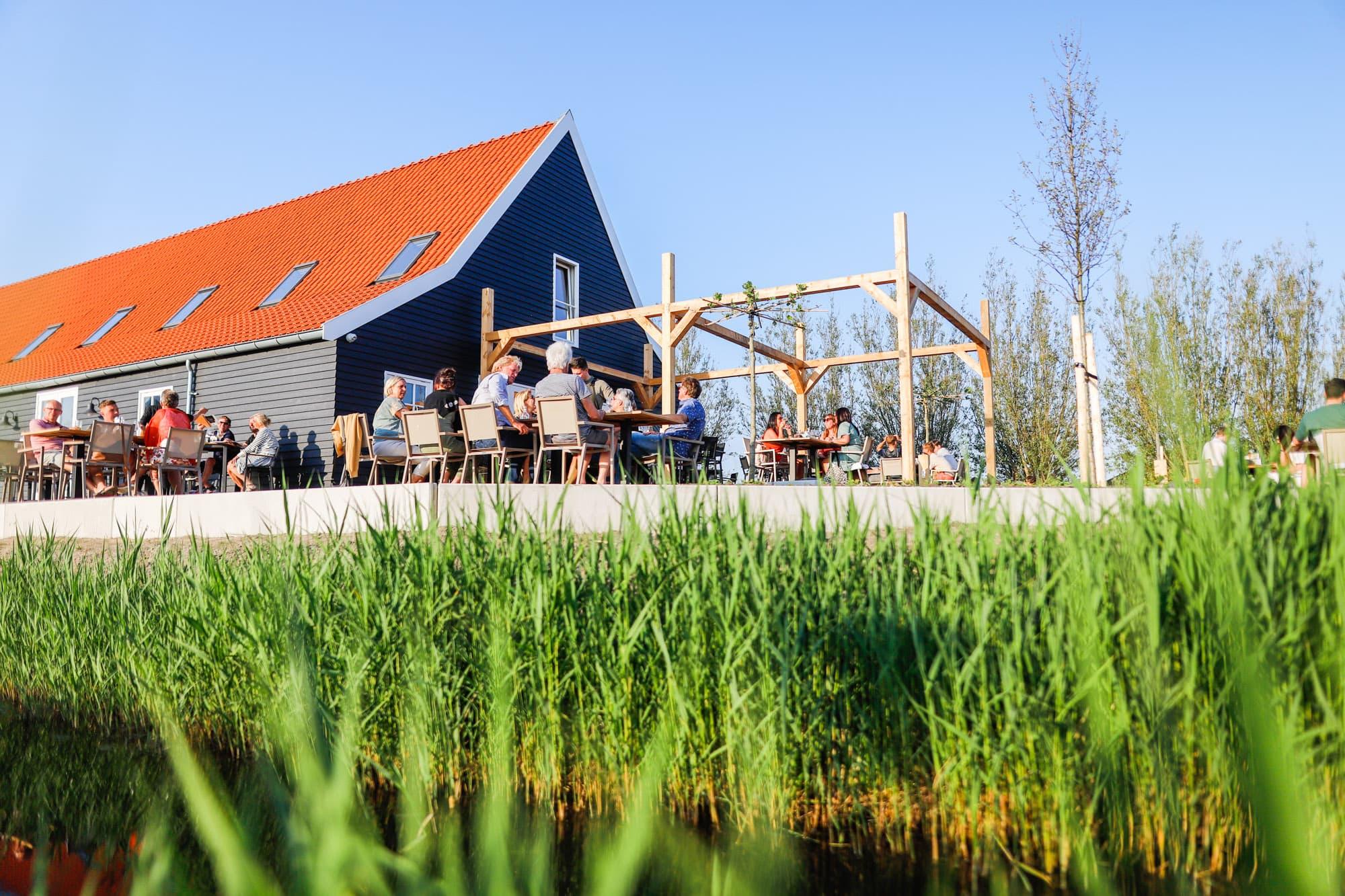Restaurant Krelis terras