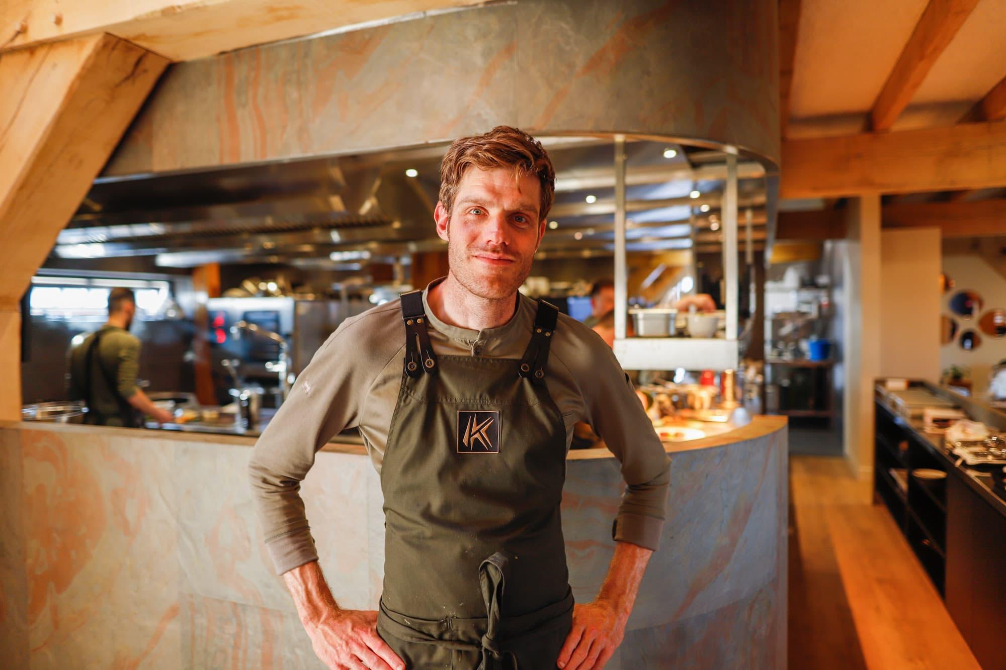 Chef-kok Jos Keijsper portret