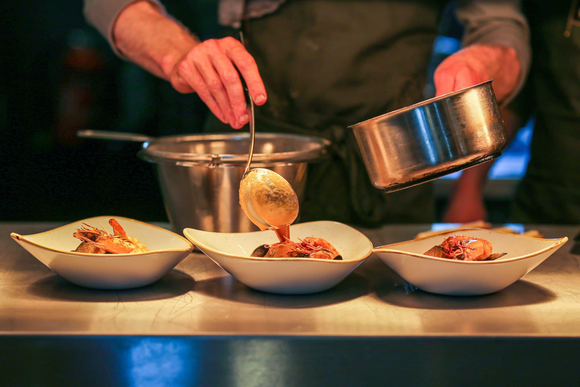 Restaurant Krelis heerlijke verse gerechten