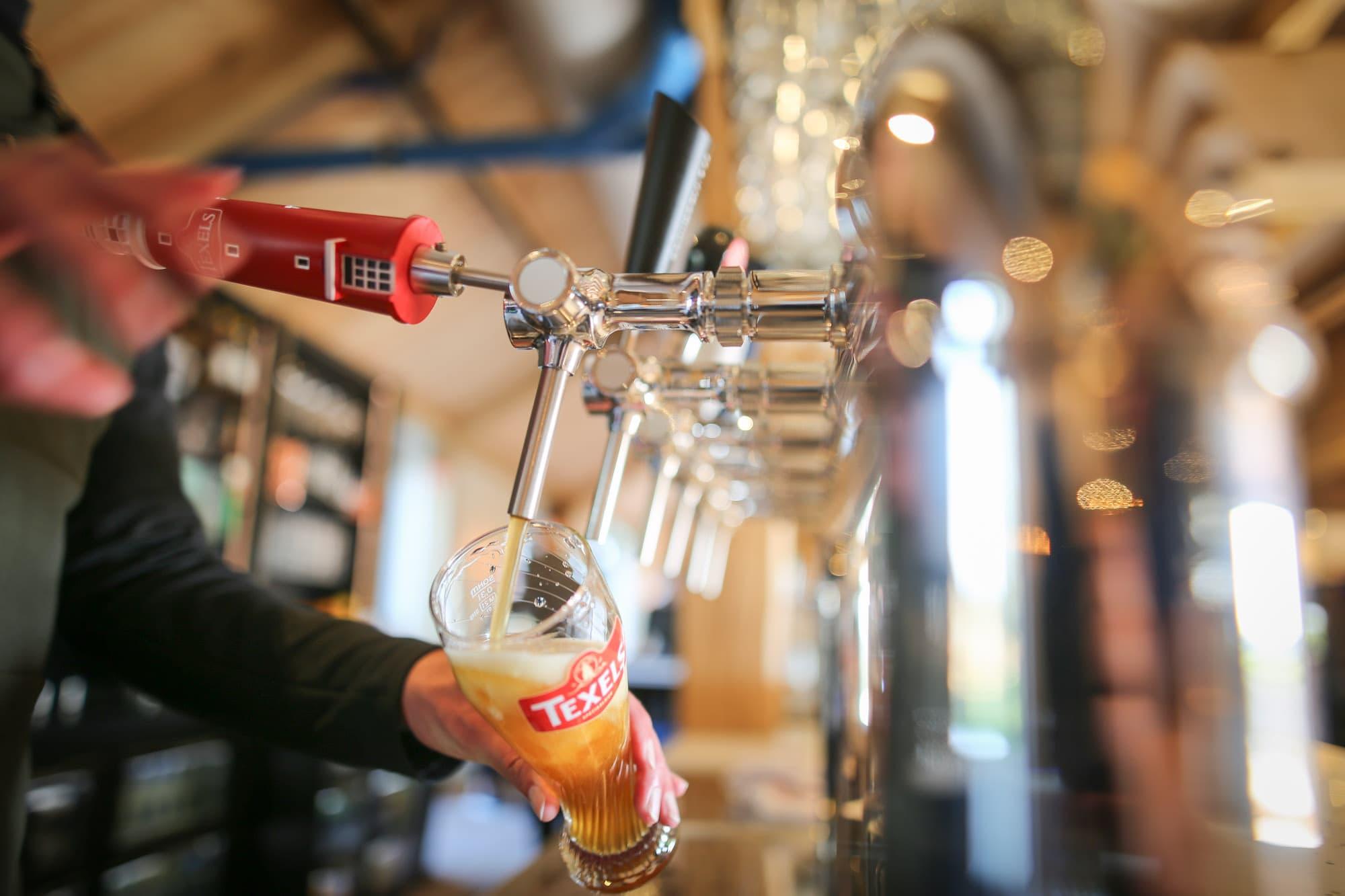 Restaurant Krelis bieren van de tap
