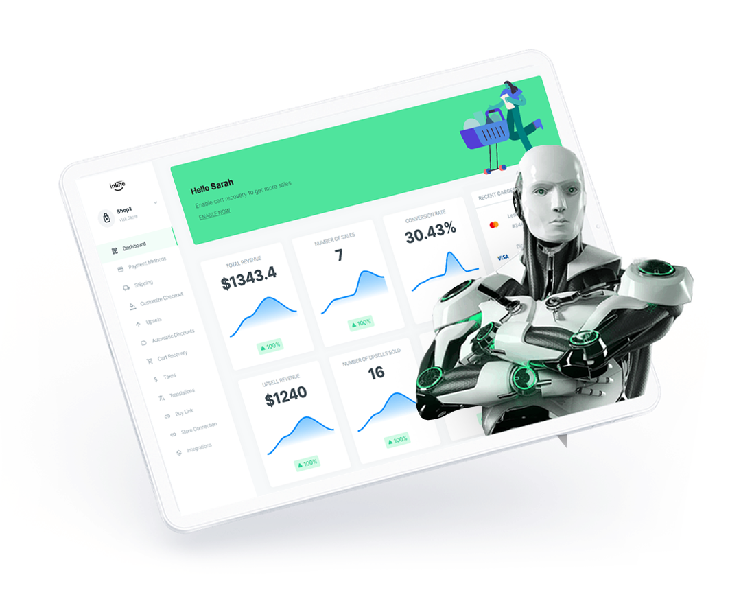 Artificial intelligence on your store checkout page