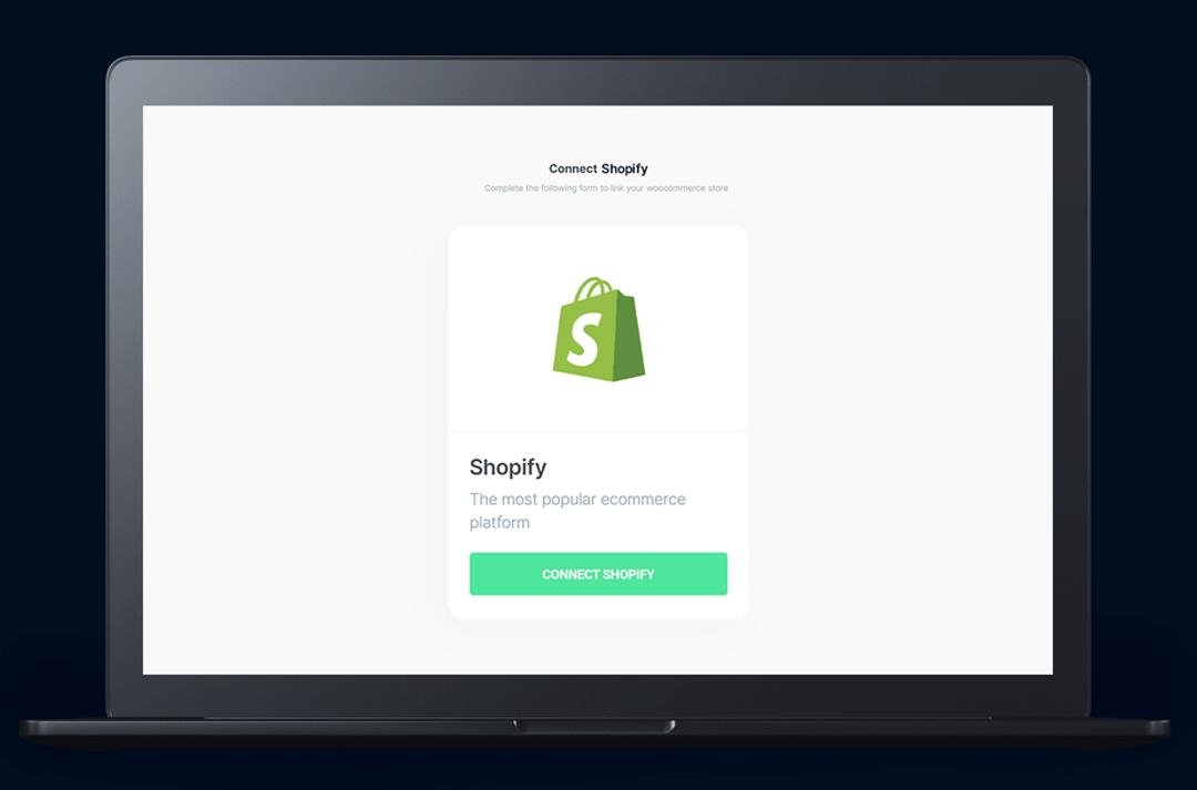 Custom checkout app for Shopify