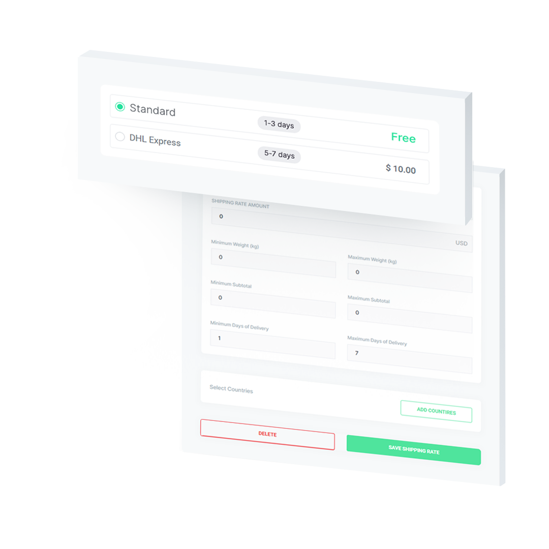 Custom checkout page motivators - timers, gamification.