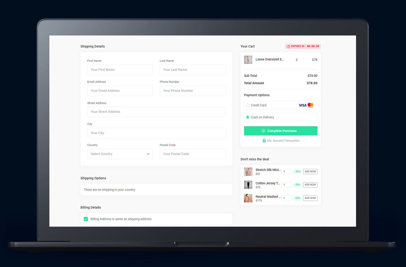 Inline Checkout - Custom checkout for Shopify and WooCommerce that boost conversions on your online shop.