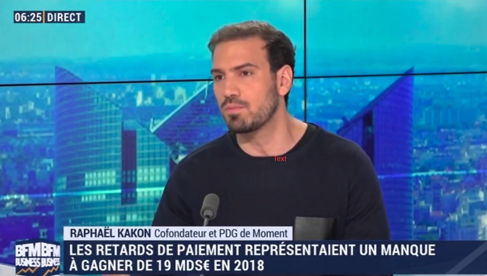 Kakon screen interview BFMTV