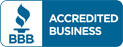 BBB Accredited Business logo | Keyprime Roofing