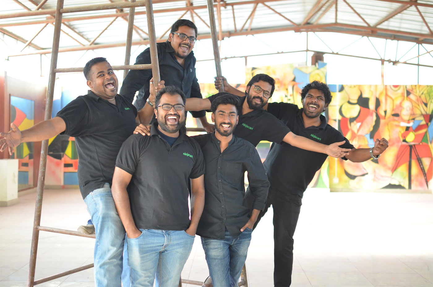 All Ninjacart Founders together | Thirukumaran Nagarajan, Vasudevan Chinnathambi, Ashutosh Vikram, Kartheeswaran KK, Sharath Babu Loganathan