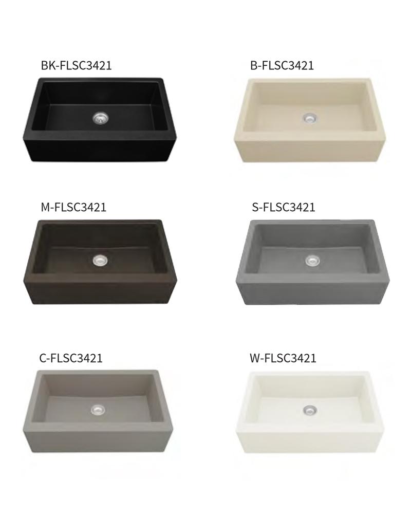 Sink Colors