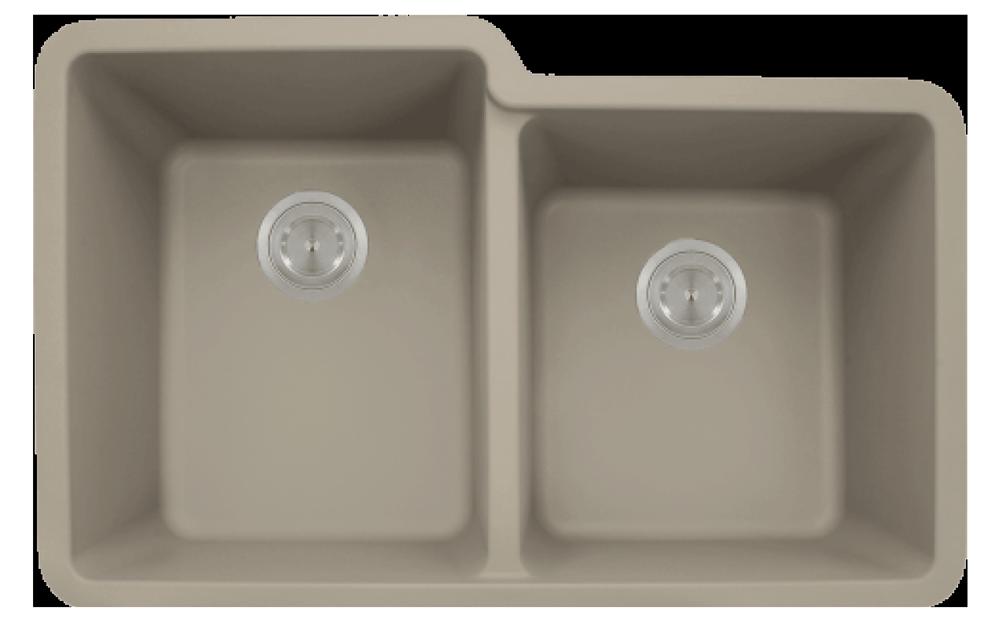 Composite Double Offset Bowl