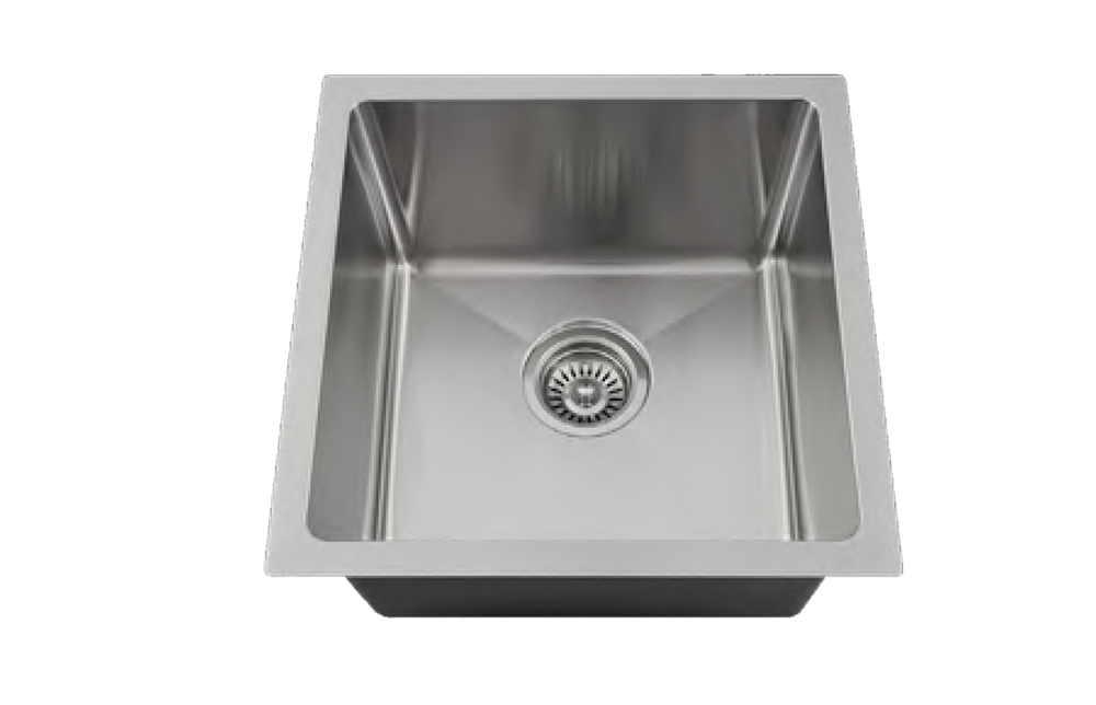 Stainless Small Single Bowl - Square