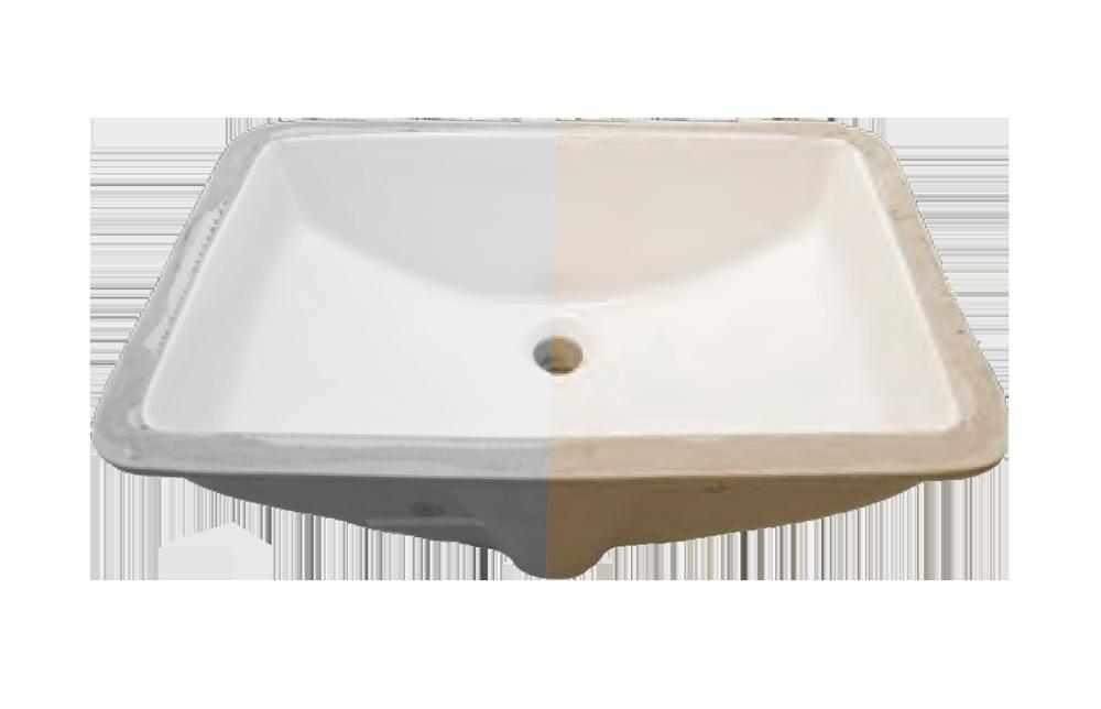 Porcelain Rectangle Lavatory (16 X 11)