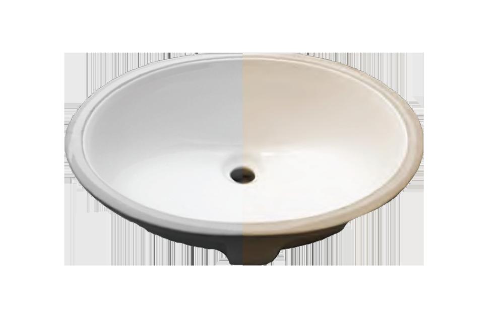 Porcelain Oval Lavatory (15 X 12)