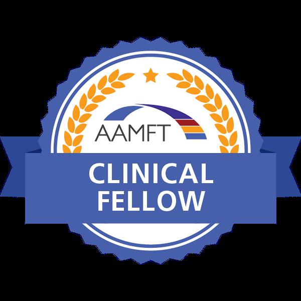 AAMFT Clinical Fellow Badge