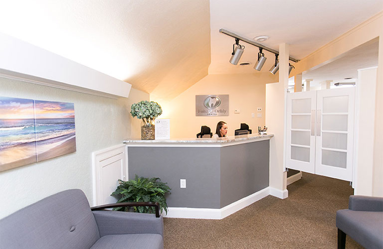 Fisher & Orfaly Dental Reception Area