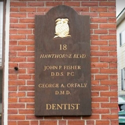 Fisher & Orfaly Dental Nameplate