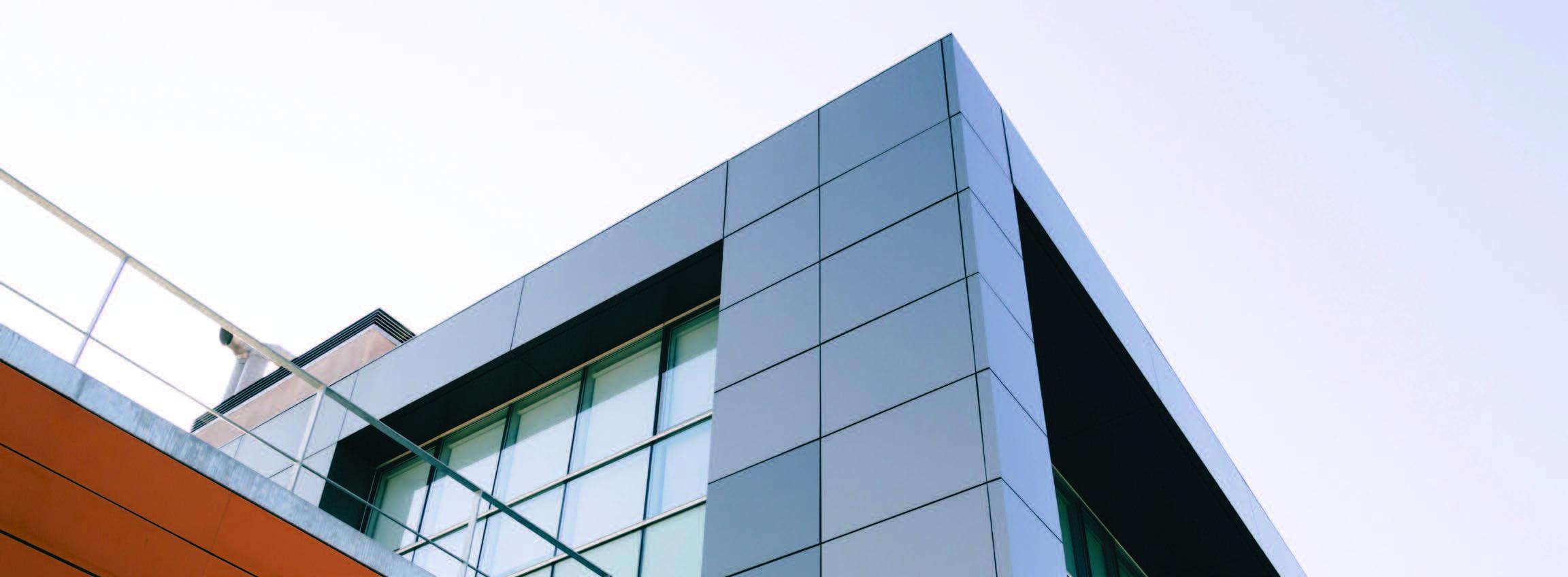 Building with a facade
