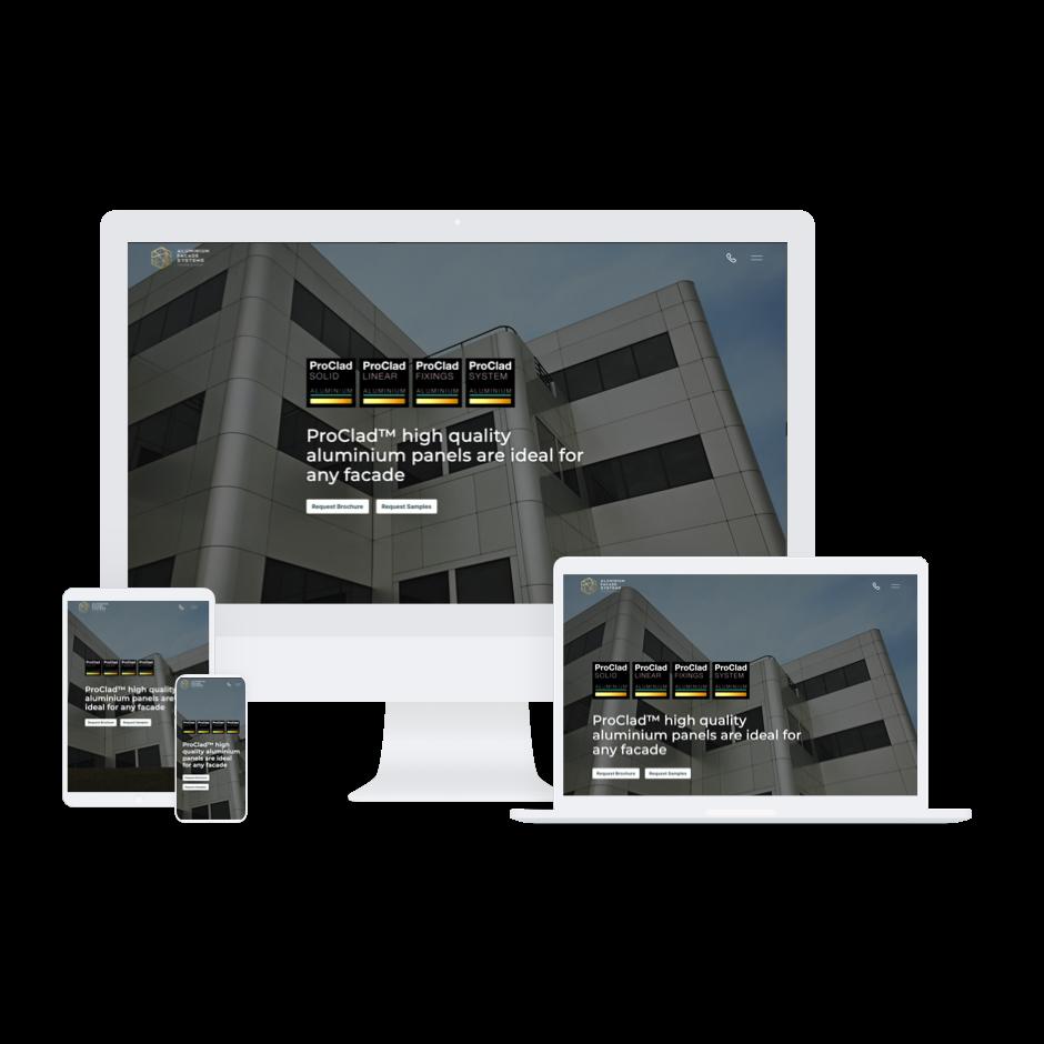 Aluminium Facade Systems Website Launch