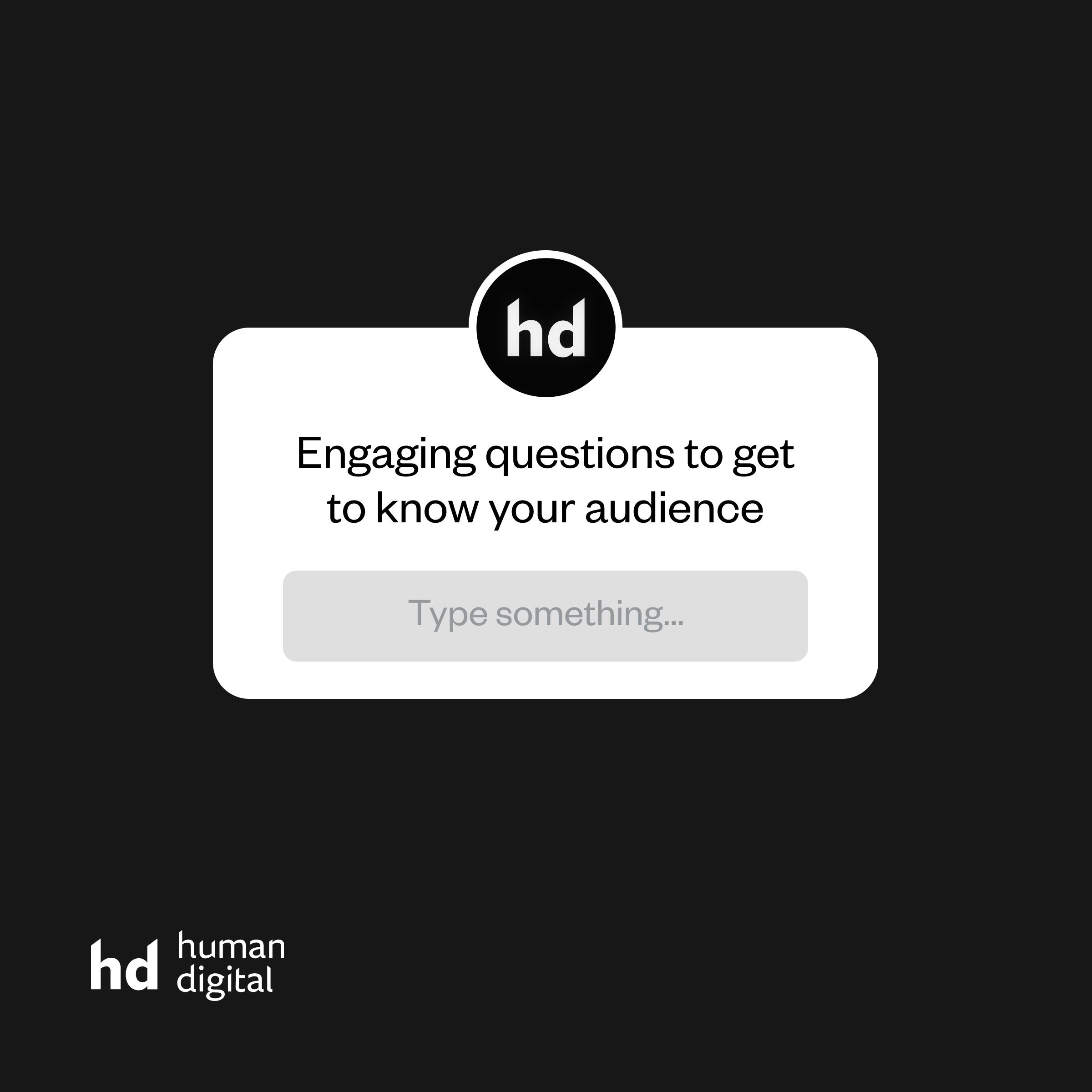 Engaging questions to get to know your audience