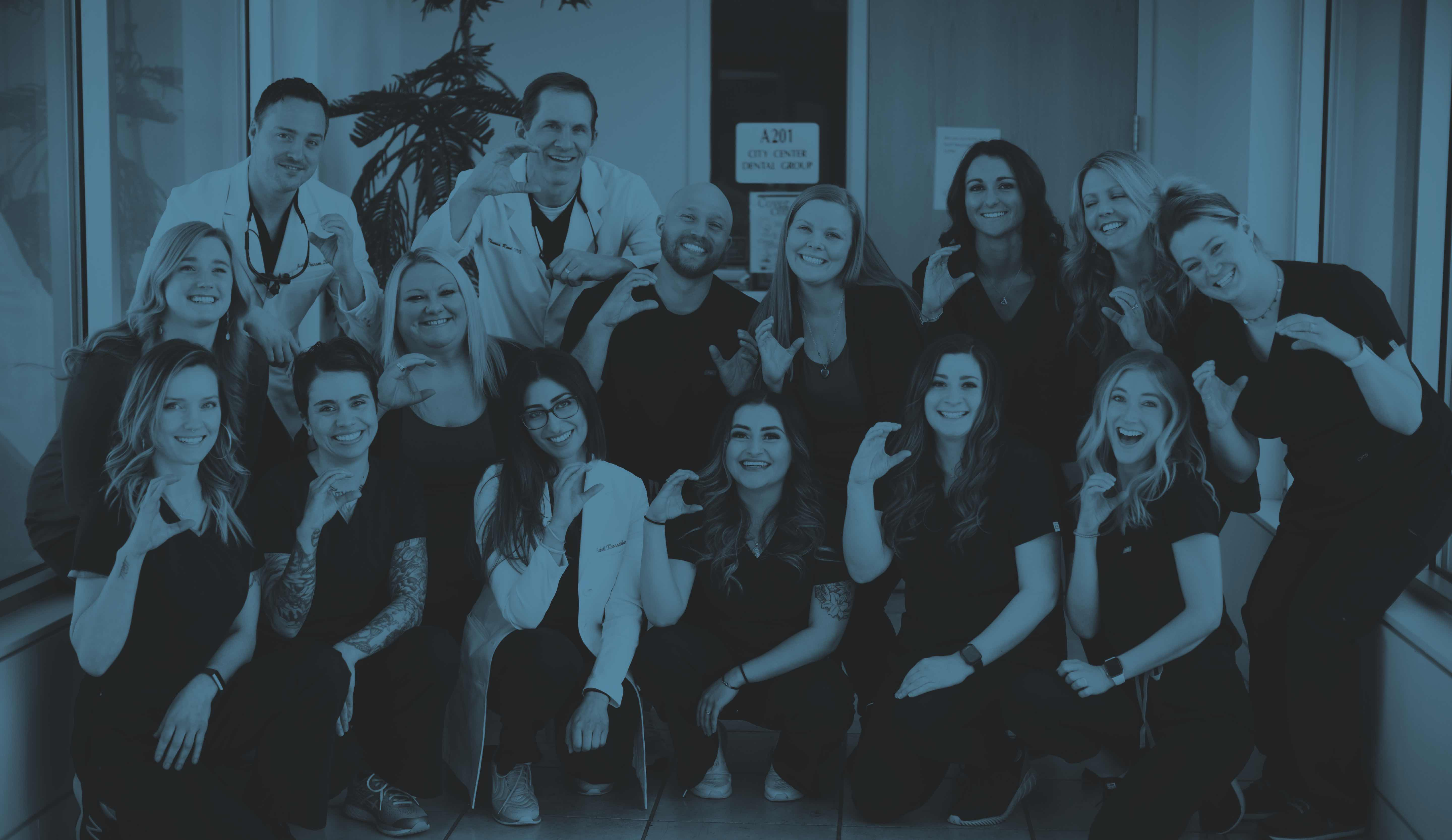 Photo of our Englewood dental team