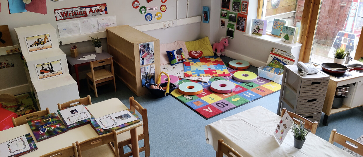 StartBright Bawnogue caters for our youngest early learners.