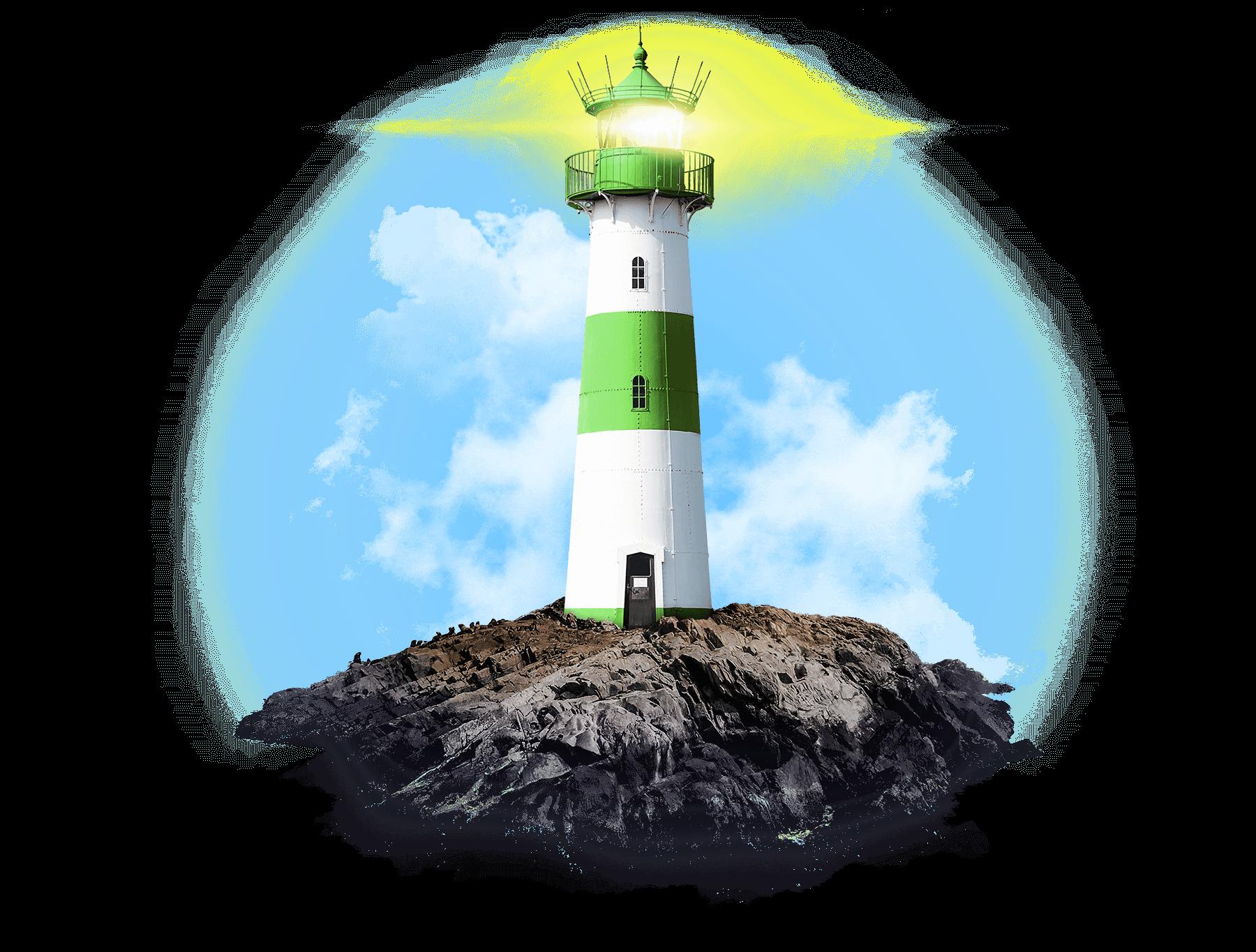 ein Bild des Nachhaltigkeitsleuchtturms von Denner