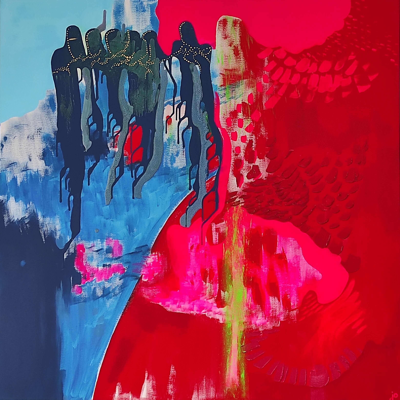 ręcznie malowane, obraz, obraz akrylowy, obraz na płótnie, malarstwo abstrakcyjne, oryginalne, malarstwo intuicyjne, sztuka współczesna, wyobraźnia, awangarda, sztuka na sprzedaż, polska sztuka, sztuka do wnętrz, w domu najlepiej, warszawa, oryginalny prezent