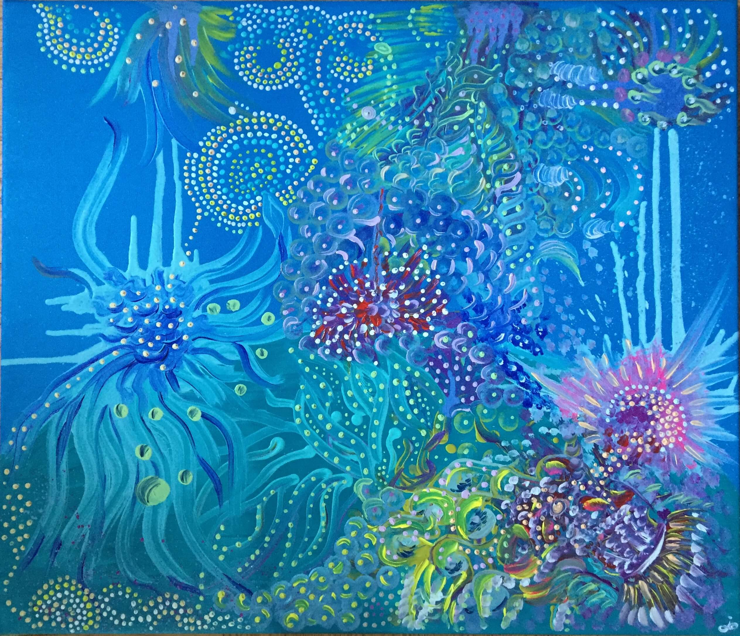 abstrakcja, obraz olejny, do salonu, malarstwo współczesne, malarstwo abstrakcyjne, wyobraźnia, 2021 art, abstrakt art, malarstwo olejne, ręcznie malowane, morze