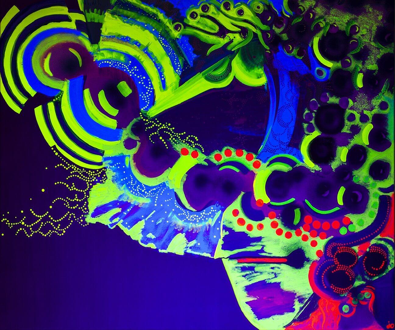 uv art, uv, uv artist, psychodelic art, ultrafiolet, obraz uv, obraz uv