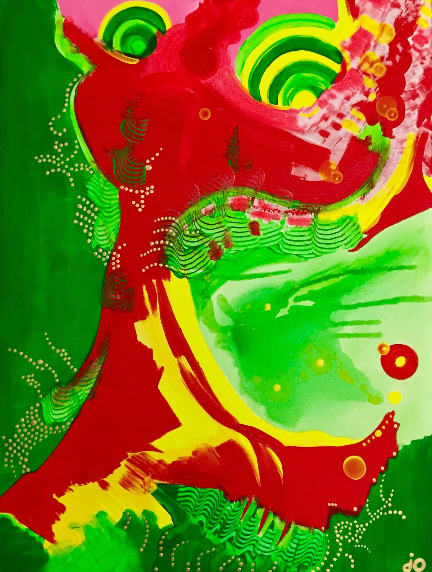kot, wyobraźnia, do salonu, dekorujemy wnętrze, mój dom, piękne wnętrze, abstrakcja, obraz akrylowy, malarstwo abstrakcyjne, polski artysta, polska sztuka, sztuka współczesna, obraz na sprzedaż, wolnosc, oryginalny prezent, psycholdelic