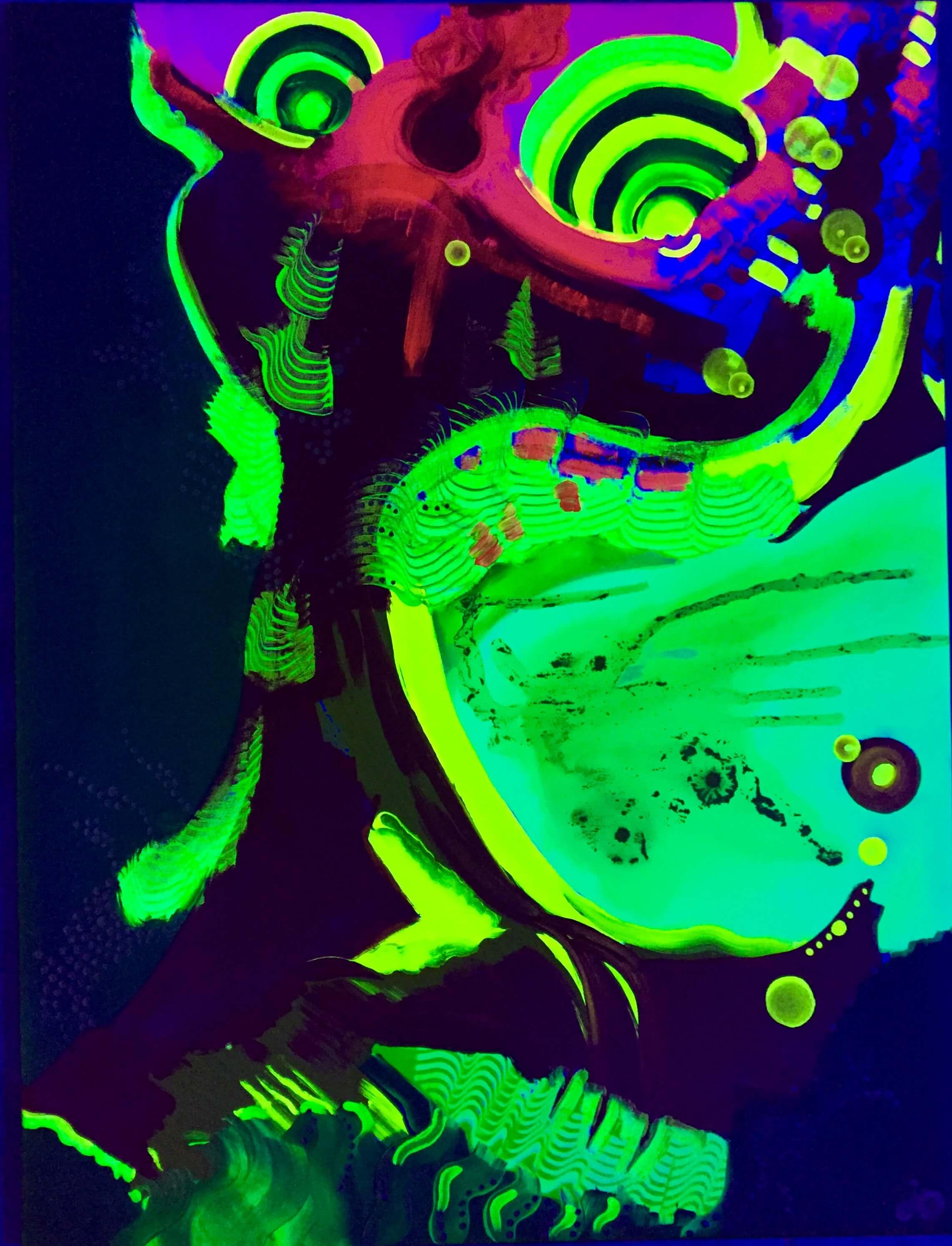 uv art, uv, uv artist, psychodelic art, ultrafiolet, obraz uv, psychodeliczny, klimatyczny