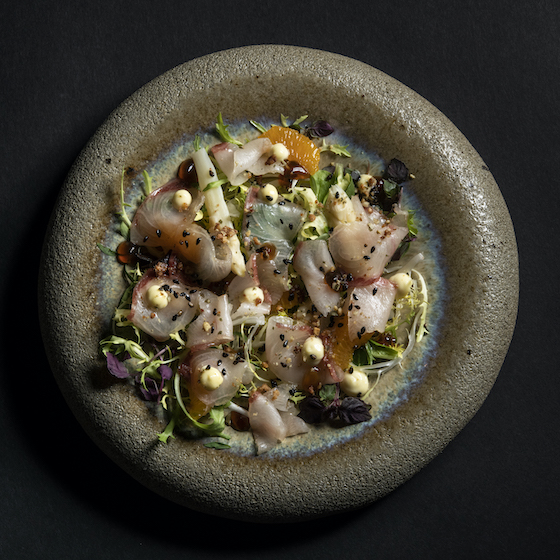 Rozario Warung salade gepekelde kingfish