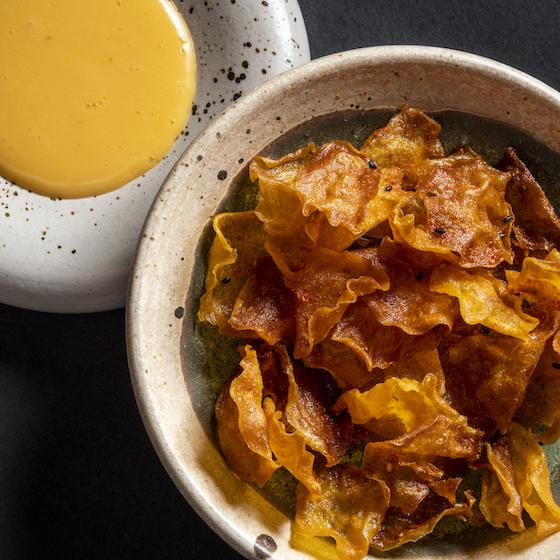 Rozario Warung zoete aardappel chips
