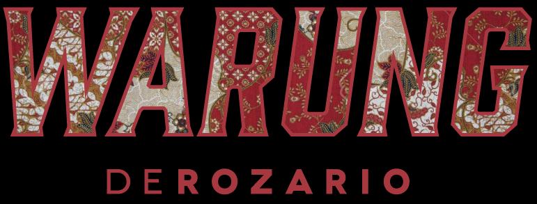 warung de rozario logo