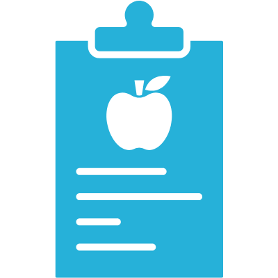 nutrition chart icon