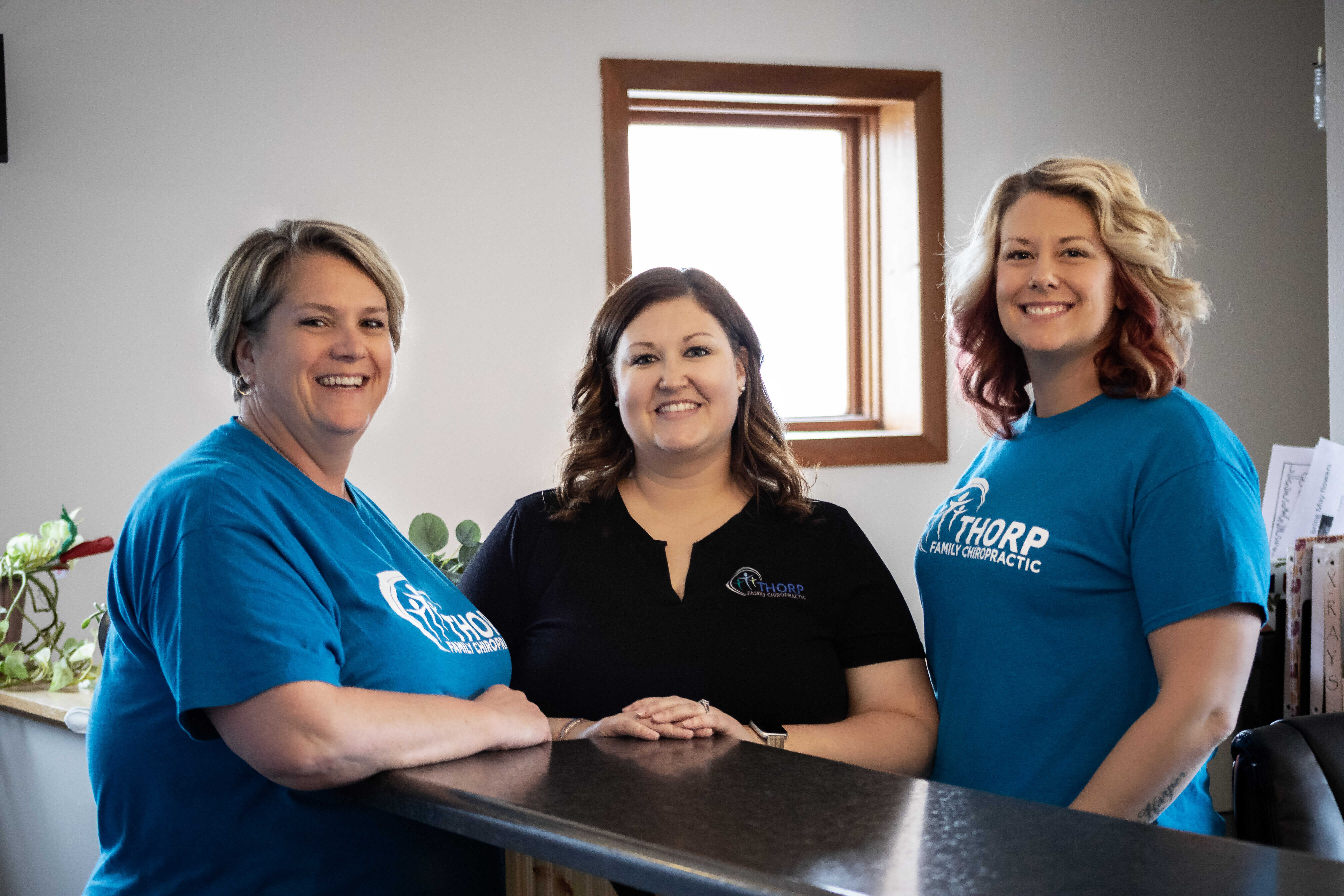 Thorp Family Chiropractic team