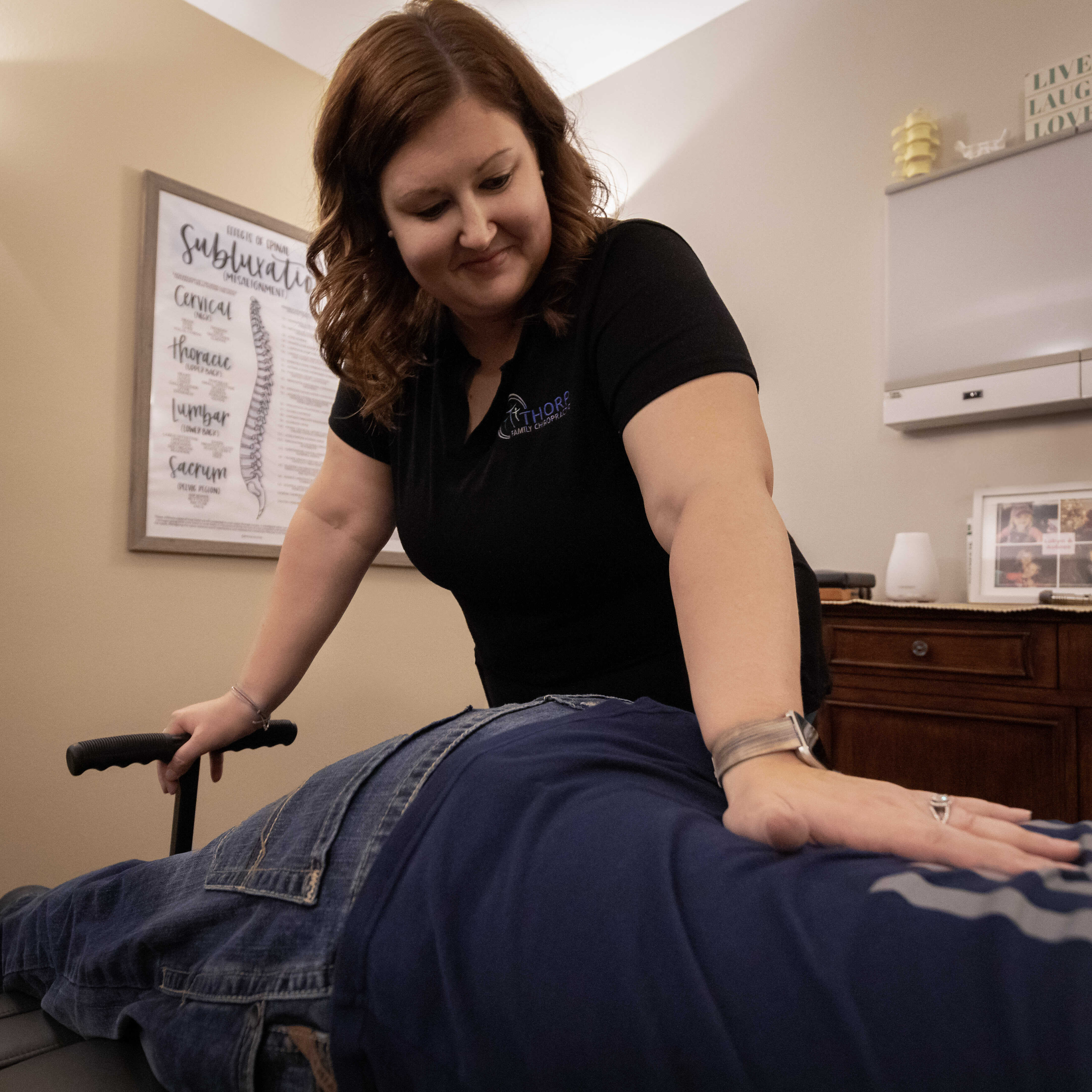 Thorp Family Chiropractic lower back pain removal