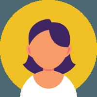 Icon of white woman