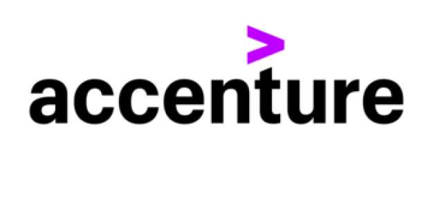Accenture logo leading to the article featuring upcover