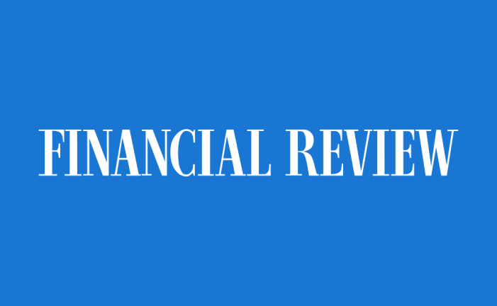 AFR logo leading to the article featuring upcover