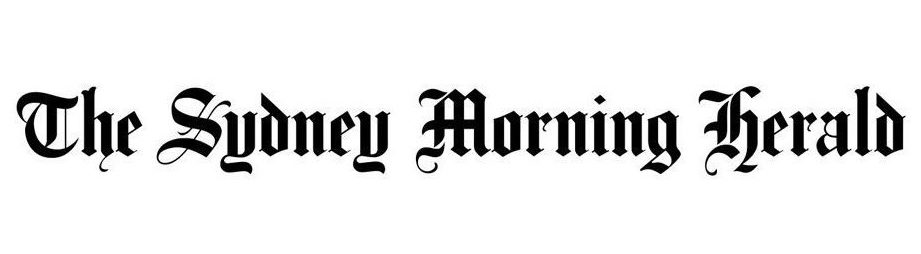 Sydney Morning Herald logo leading to the article featuring upcover