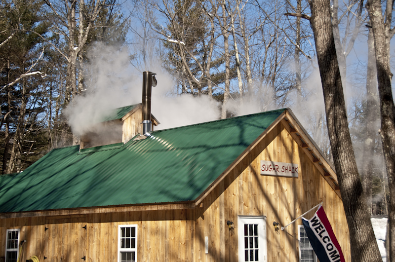 Maple Syrup in Mt. Washington Valley