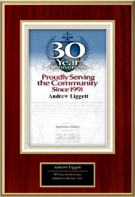 30 year anniversary plaque