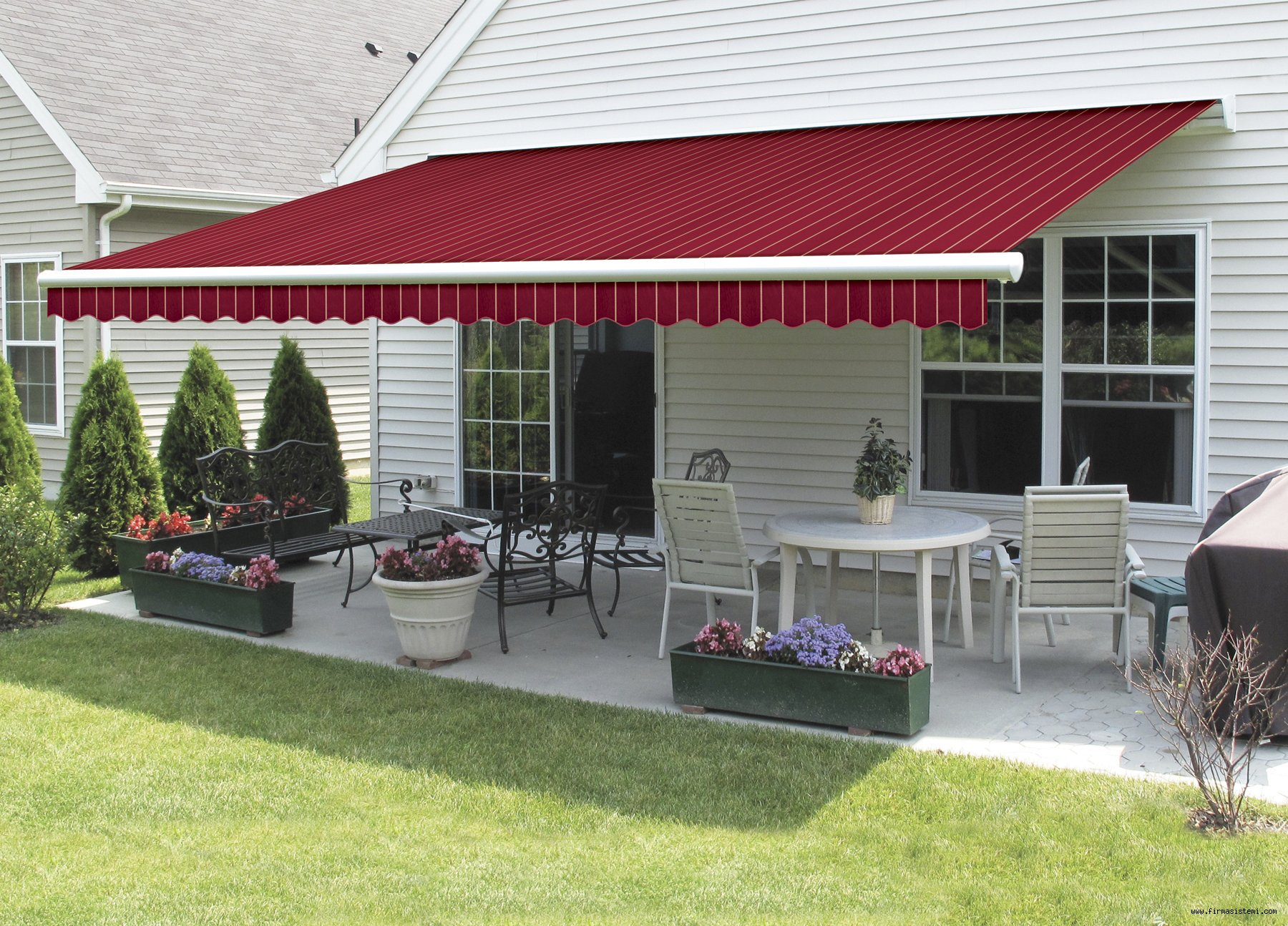 Awning Red