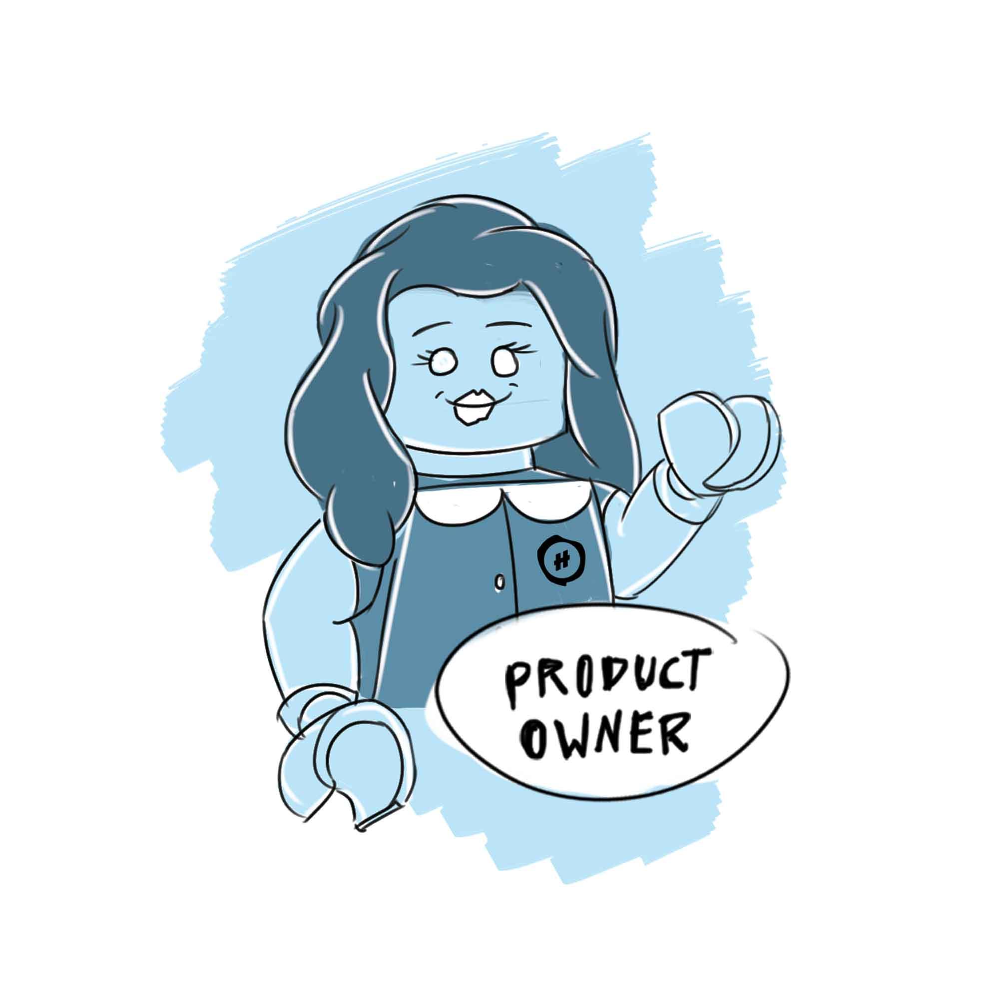 Product Owner Zeichnung