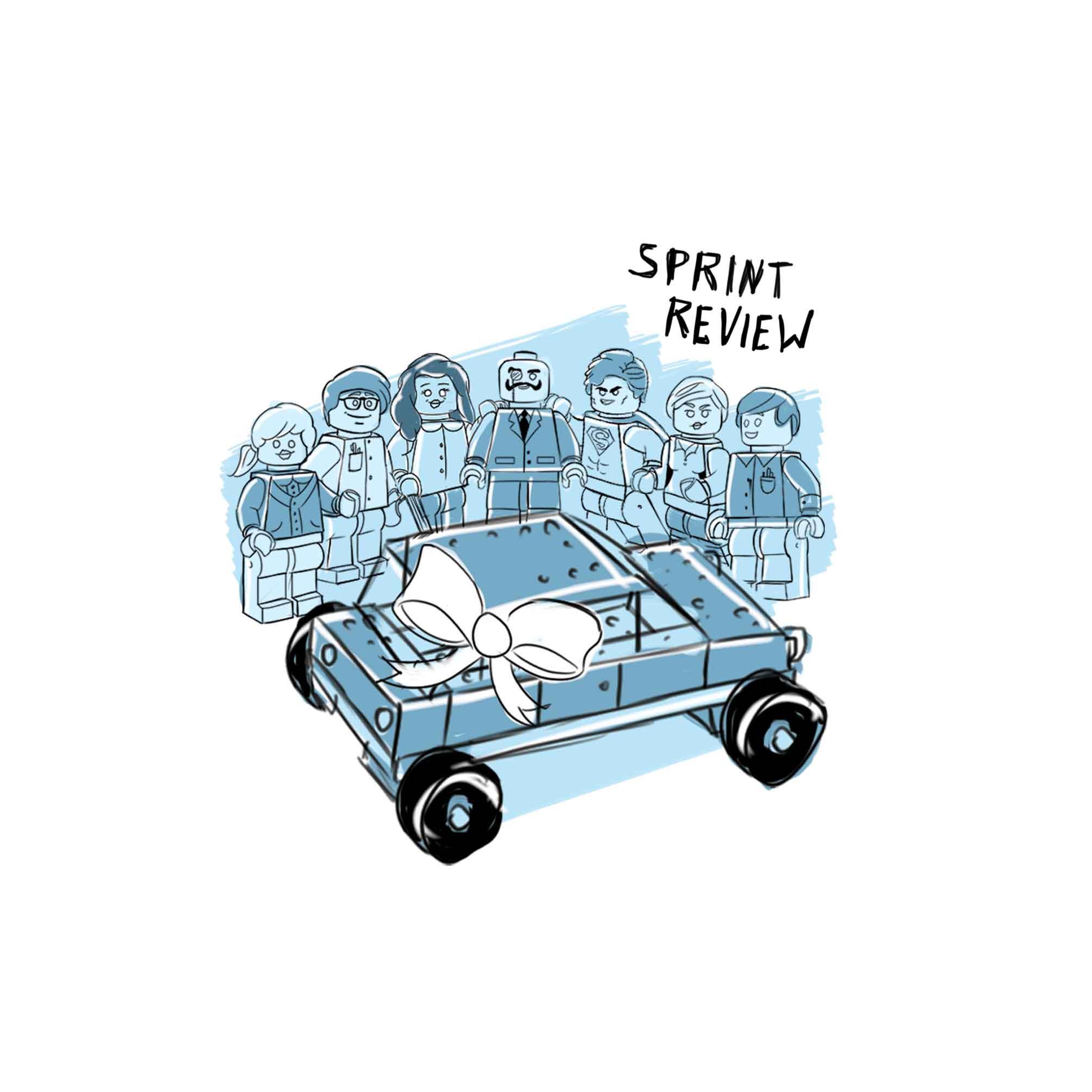 Review Meeting Zeichnung